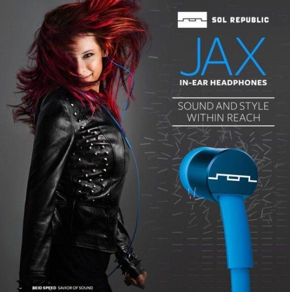 【台中平價鋪】百貨精品 美國 Sol Republic Jax 抗噪 扁線 入耳式耳機 ☆隨機不挑色 限時特賣☆