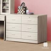 【Hampton 漢汀堡】伯大妮白梣木耐磨4尺六斗櫃
