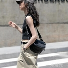 2020新款休閒百搭時尚潮流腰包單肩側背牛津布包  一米陽光