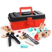 【全館88折】 兒童工具箱玩具套裝仿真維修工具益智4-6歲男孩擰螺絲修理過家家 韓趣優品☌