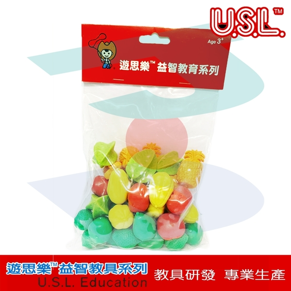 【USL遊思樂教具】認知模型-鳳梨水果組 (36pcs) F1008E01