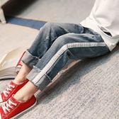 女童牛仔褲春秋款休閒褲正韓2018新款童褲中大女孩長褲兒童褲子女禮物限時八九折