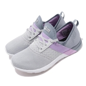 New Balance 訓練鞋 WXNRGNG D 灰 紫 透氣網布 緩震舒適 運動鞋 女鞋【PUMP306】 WXNRGNGD
