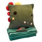 可愛靠枕 抱枕被子兩用辦公室靠背墊靠枕三合一空調被午休枕頭神器午睡毯子X【快速出貨】