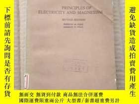二手書博民逛書店principles罕見of electricity and magnetism(P374)Y173412