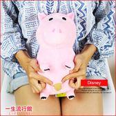 《最後3個》迪士尼 玩具總動員 火腿豬 小豬 正版 兒童 卡通 絨毛娃娃 24cm D10015