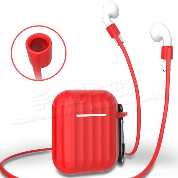 【AirPods 三套件】AirPods 耳機收納盒套裝 防摔防塵保護套/可掀蓋/內建扣環/附掛勾/Apple原廠專用-ZW