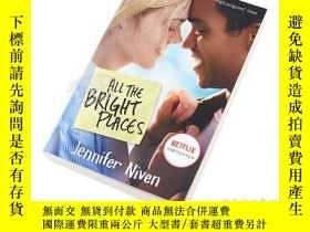 二手書博民逛書店所有明亮的地方(電影封面版)英文原版罕見All the Bright Places 英文原版 Jennifer N