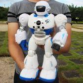 遙控智能編程機器人機械戰警講故事男女孩早教充電動兒童玩具禮物