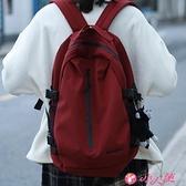 後背包 大容量書包女大學生時尚背包男中學生日系韓版超火原創後背包 小天使