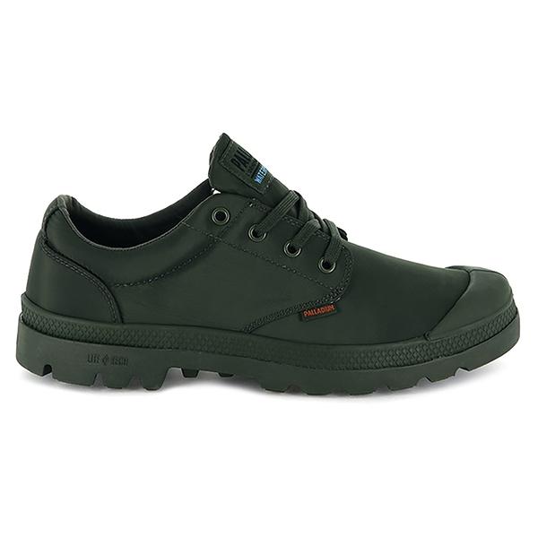 Palladium PAMPA OX PUDDLE LTWP 男女款防潑水低筒靴 76116303 軍綠