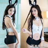 性感蕾絲馬甲小胸聚攏奶子情趣內衣套裝兔女郎制服av誘惑極度sm騷  優家小鋪
