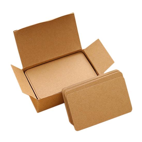 單字卡 卡片 名片 彩色紙 空白紙 盒裝 牛皮紙 留言卡 辦公用品 糖果色 炫彩名片紙【K130】MY COLOR