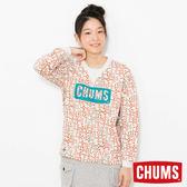 CHUMS 日本 女 LOGO 圓領套頭衫 幾何Booby CH101086Z051