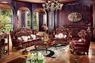 【大熊傢俱】 RE 929 新古典沙發 歐式沙發 法式 皮沙發 真皮 凡賽宮 美式新古典 實木沙發  巴洛克