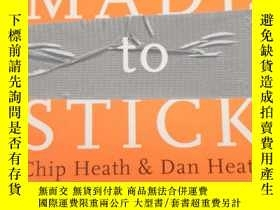 二手書博民逛書店Made罕見to Stick: Why Some Ideas S