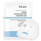 【DR. WU】 玻尿酸保濕微導面膜10片 無盒 效期2021.10【淨妍美肌】