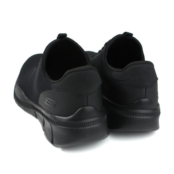 SKECHERS Air-Cooled MEMORY FOAM 休閒運動鞋 男鞋 黑色 52928BBK no001