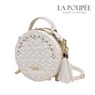 側背包 浪漫法式花朵蕾絲流蘇小圓包 -La Poupee樂芙比質感包飾 (預購+好禮)