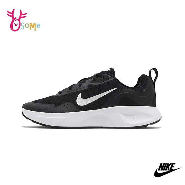 NIKE運動鞋 女鞋 慢跑鞋 跑步鞋 路跑 訓練鞋 WMNS WEARALLDAY Q7010#黑白◆OSOME奧森鞋業