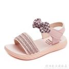女童涼鞋2021新款時尚兒童鞋子夏季小女孩涼鞋公主防滑軟底寶寶鞋 科炫數位