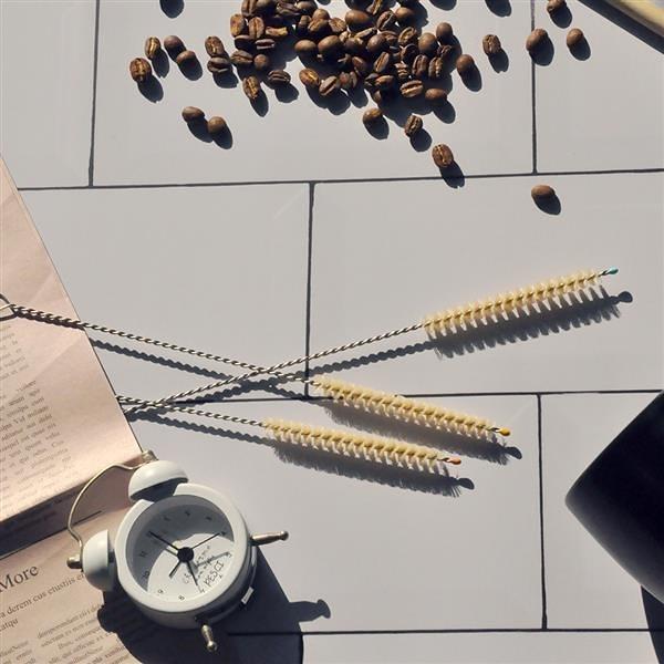天然吸管刷(細羊毛x3) Natural Straw Cleaner【DUBBE】