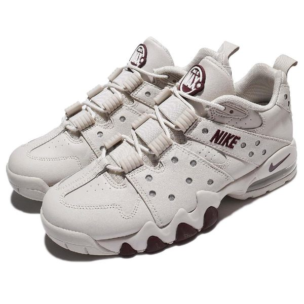 【六折特賣】Nike Air Max 2 CB 94 Low 米白 酒紅 氣墊 復古籃球鞋 男鞋 巴克利 【PUMP306】 917752-004