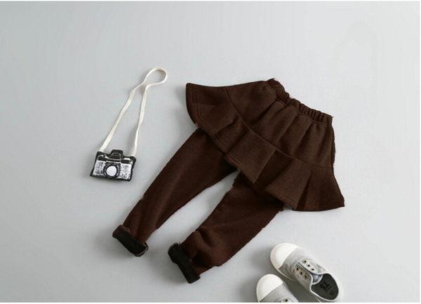 *╮S13小衣衫╭*超美百搭加絨魚尾短裙靴褲 1051108
