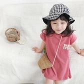 寶寶裙子2020年新款夏天純棉短袖洋氣寬鬆小童可愛公主女童連身裙 童趣屋