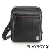 PLAYBOY- 單肩背包 新摩登系列-黑色