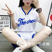 籃球服 女生女短袖套裝女士DIY個性正韓球衣女子籃球隊比賽服定制 韓風嚴選
