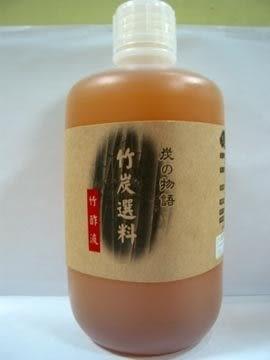 黑樹林備長碳~竹酢液1000cc/罐 *3罐~特惠中