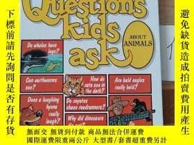 二手書博民逛書店QUESTIONS罕見KIDS ASK ABOUT THEMSELVES 1Y246207