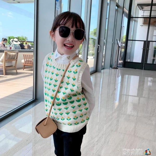 女童洋氣白襯衫春秋新款兒童韓版修身長袖襯衣童裝寶寶上衣潮 聖誕節全館免運