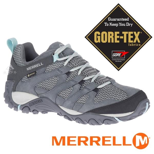 【MERRELL 美國】ALVERSTONE 女GORE-TEX多功能健行鞋『深灰』034588 多功能鞋.登山鞋