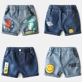 *╮小衣衫S13╭*兒童夏季萌趣卡通印花水洗牛仔短褲1090415
