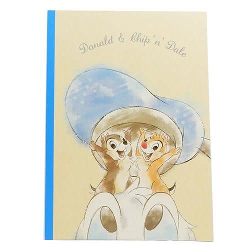 DISNEY 迪士尼B5平裝筆記本(唐老鴨與奇奇蒂蒂惡作劇)★funbox★KAMIO_KM09957