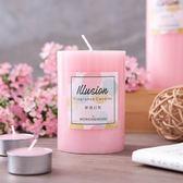夢境幻影4吋甜粉蠟燭-生活工場