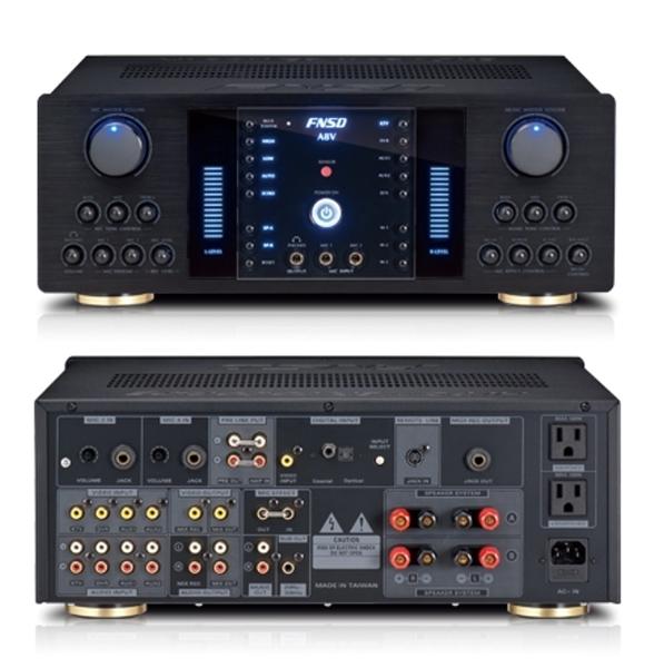 《名展影音》 華成電子立體聲歌唱擴大機 FNSD A8V 數位迴音卡拉OK 另售A6V A7V A9V款式
