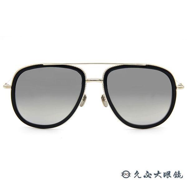 Frency&Mercury 日本手工眼鏡 大框 水銀 太陽眼鏡 Awaken ABS-M 黑-銀 久必大眼鏡