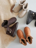 鞋子女 雪地靴2019新款時尚短筒靴子女冬季加絨女靴網紅短靴棉靴潮鞋【免運】