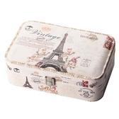 點點集首飾盒皮革公主歐式飾品盒手飾收納盒珠寶盒簡約耳釘戒指盒WY【快速出貨】