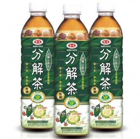 愛之味 健康油切分解茶590ml*1/瓶【合迷雅好物超級商城】