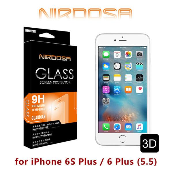 快速出貨 NIRDOSA 全滿版 iPhone 6S Plus / 6 Plus (5.5) 9H 0.33mm 鋼化玻璃 螢幕保護貼