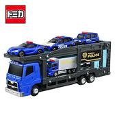 【日本正版】TOMICA 警察運輸車組 附4台小車 玩具車 城鎮系列 場景玩具 多美小汽車 - 175988