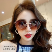 《Caroline》年度最新網紅款潮流行百搭抗UV時尚太陽眼鏡 72790