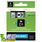 [美國直購] DYMO 40910 Standard D1 Self-Adhesive Polyester Tape for Label Makers 3/8inch x 23 標籤紙
