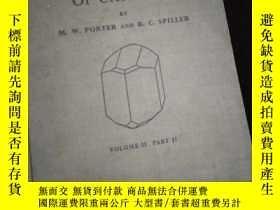 二手書博民逛書店The罕見Barker Index of Crystals (英文)Y16149