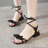 新款平底百搭夏季法式少女高跟鞋仙女溫柔鞋 QQ29205『東京衣社』