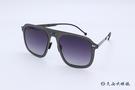 ROAV 偏光太陽眼鏡 Virgil - Mod.8003 ( 鐵灰框/漸層灰 ) 薄鋼折疊墨鏡